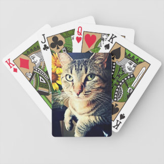 """Green """"Sunflower"""" Bicycle Playing Cards"""