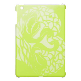 green swan phone case case for the iPad mini