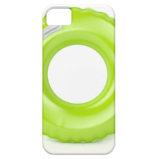 Green swim ring case for the iPhone 5