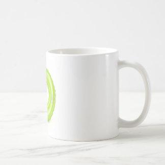 Green swim ring coffee mug