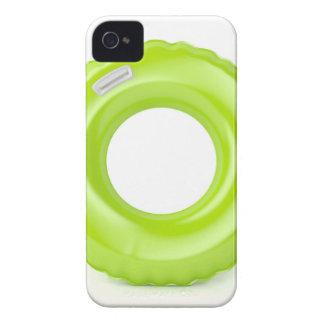 Green swim ring iPhone 4 cases