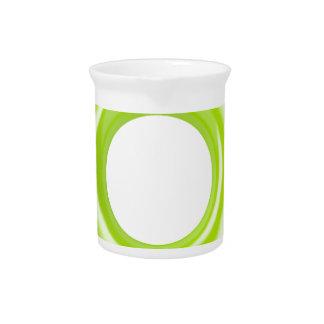 Green swim ring pitcher
