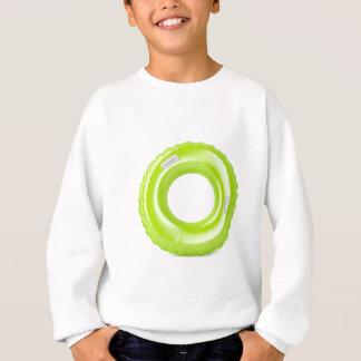 Green swim ring sweatshirt