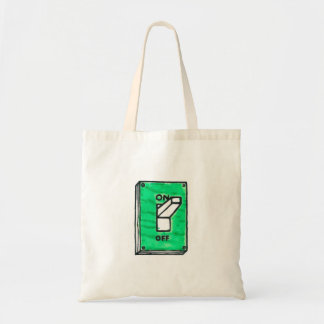 GREEN SWITCH TOTE BAG