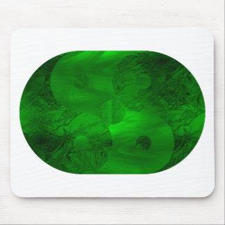 Green Symbol Mouse Pad