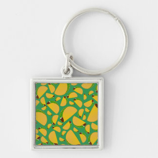 Green tacos keychains