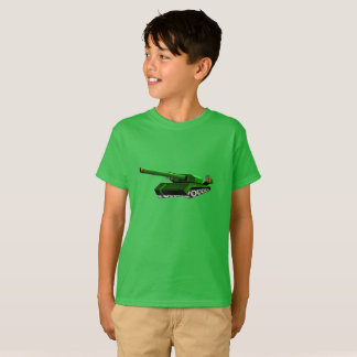 Green Tank T-shirt for Boys