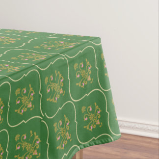 Green Tapestry Tablecloth
