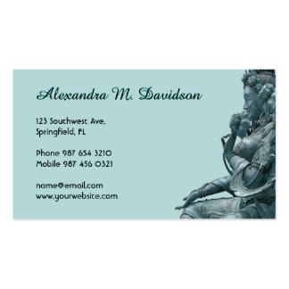 Green Tara Pack Of Standard Business Cards