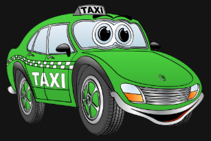 Cartoon Taxi Cab Gifts Clothing - Apparel, Shoes & More