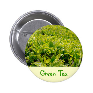 Green Tea 6 Cm Round Badge