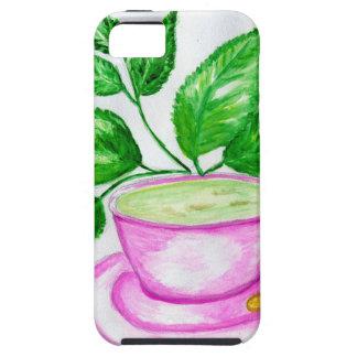 Green Tea Art2 Tough iPhone 5 Case