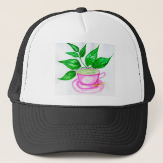 Green Tea Art2 Trucker Hat