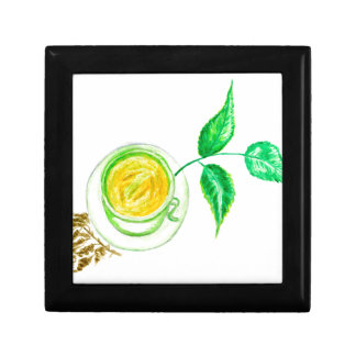 Green Tea Art Gift Box