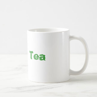 Green Tea Basic White Mug