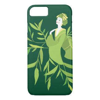 Green Tea Geisha Phone Case