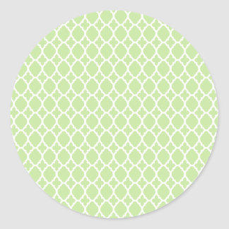 Green Tea Moroccan Tile Stickers