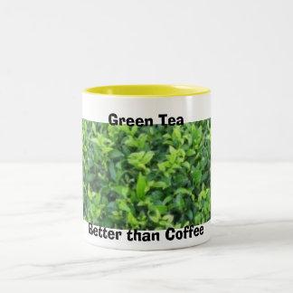 Green Tea Coffee Mug