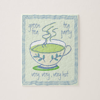 Green Tea Party Puzzle