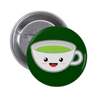 Green Tea Pin