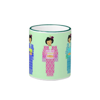 Green tea please - Ocha kudasai Coffee Mugs