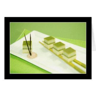 Green Tea Tofu Cards