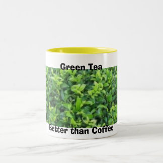 Green Tea Two-Tone Mug