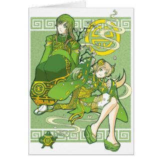 Green Tea Under the Jade Sky card