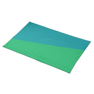 Green + Teal Placemats