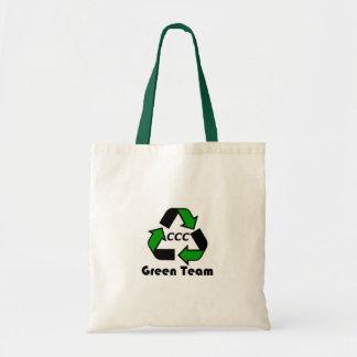 Green Team Tote Bag