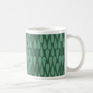 Green Teardrop Mug