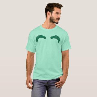 Green tee-shirt Mint/Eyebrows T-Shirt