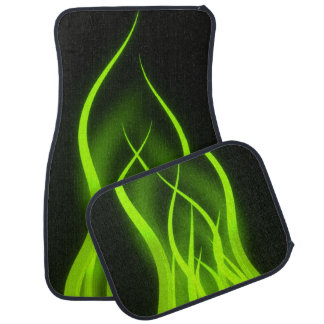 Green Tentacles Car Mat