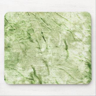 Green Textile Design Mouse Pad