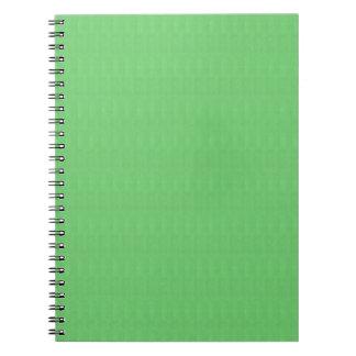 Green Texture Blank Template DIY add TEXT IMAGE 99 Notebook