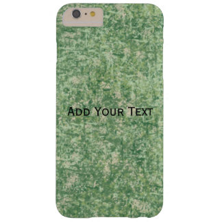 Green Textured Background by Shirley Taylor Barely There iPhone 6 Plus Case