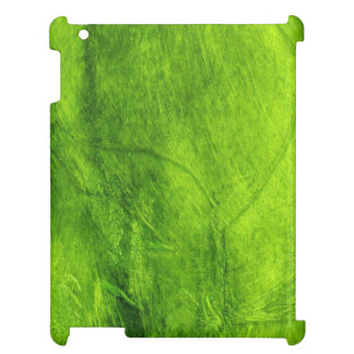 Green Textured iPad Cover