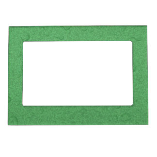 Green textured raindrop frame