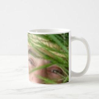 green thinking basic white mug