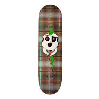 Green Thrash Mohawk by greyeyesgabriel 20.6 Cm Skateboard Deck