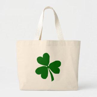Green Three Leaf Clover Bags