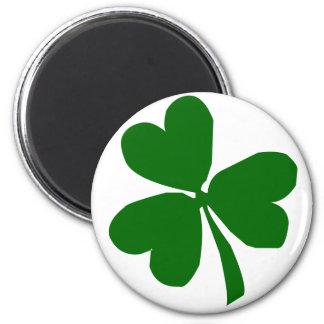 Green Three Leaf Clover Magnet
