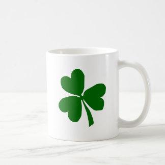 Green Three Leaf Clover Mug