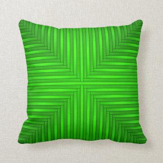 Green Throw Pillow Cushion