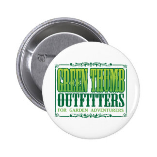 Green Thumb Outfitters Logo Pin