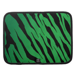 Green Tiger Stripe Smartphone Folio Planner