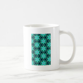 Green Tilly Lace Coffee Mug