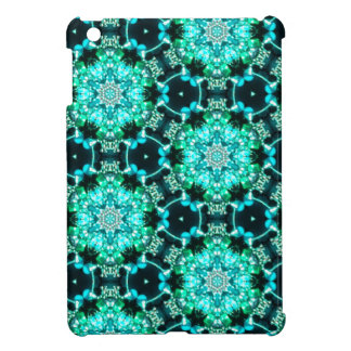 Green Tilly Lace iPad Mini Cover