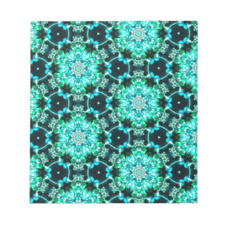 Green Tilly Lace Notepad