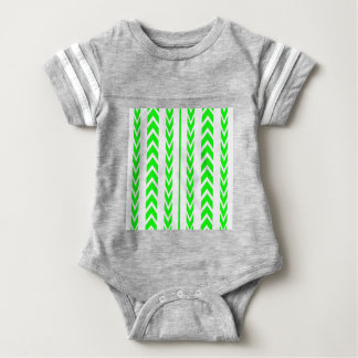 Green Tire Tread Baby Bodysuit